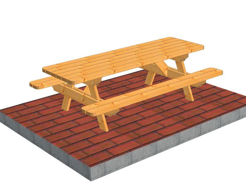 Tables de jardin (2)